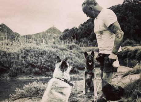 Jon Arraibi, adiestramiento canino