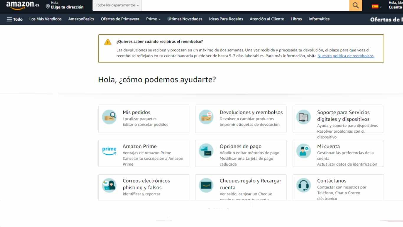 FAQ de Amazon