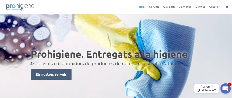 Prohigiene limpieza industrial